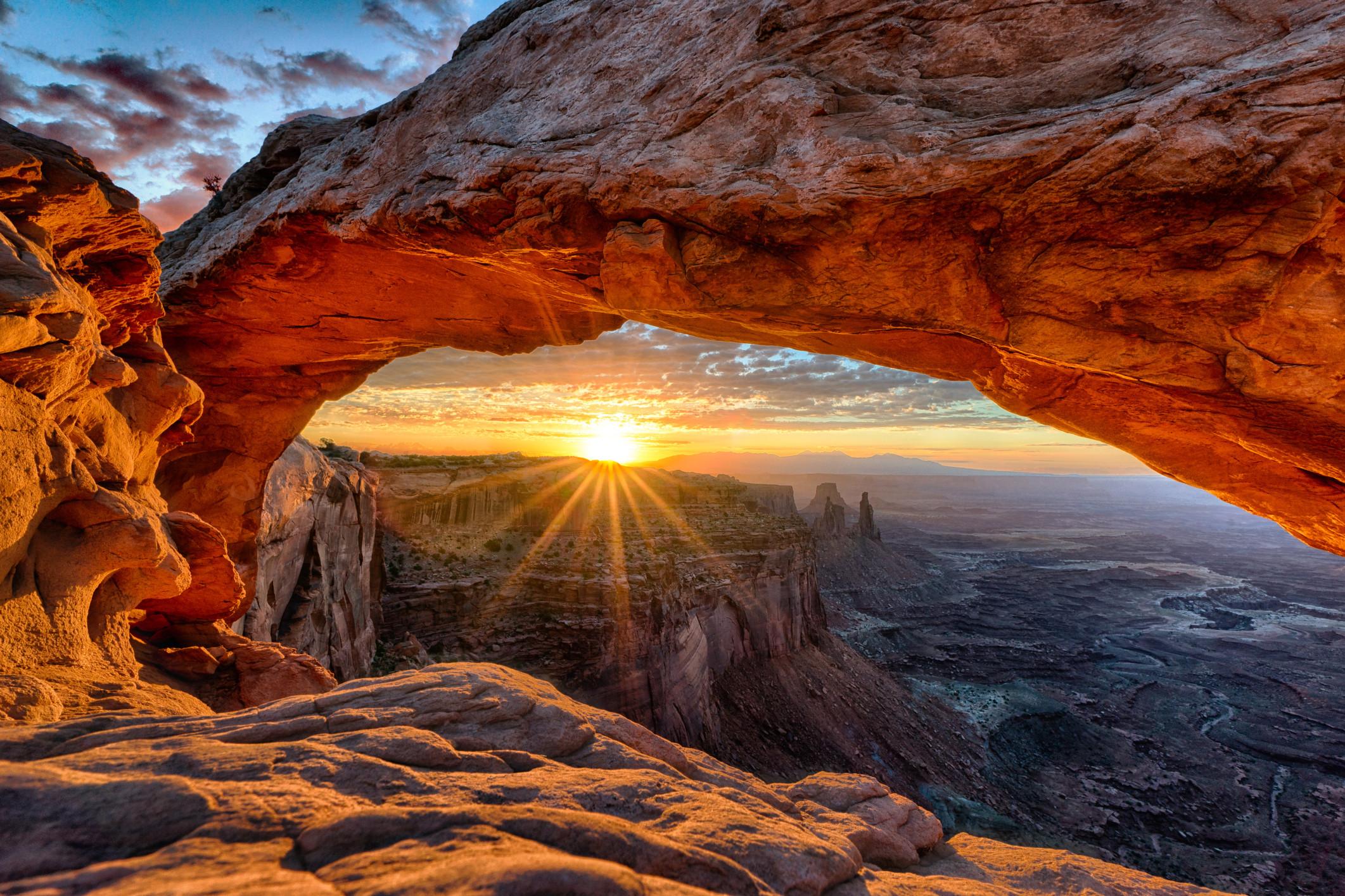 каньон арка небо  № 889034 бесплатно