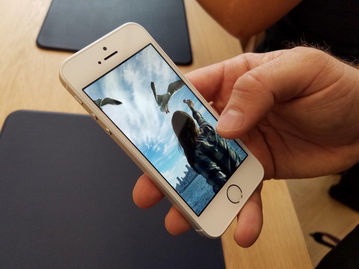Как делать живое фото на айфоне 5s