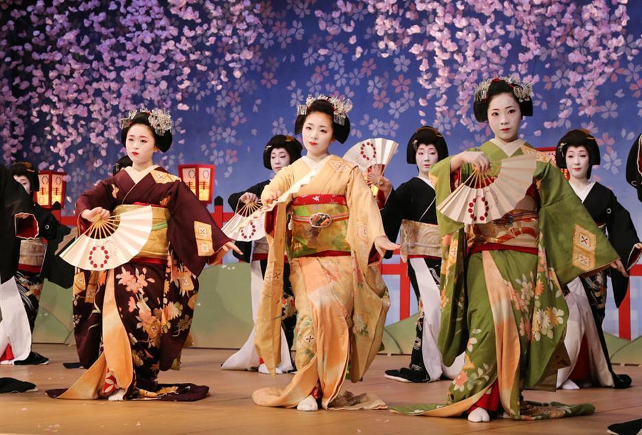 Japan Japanese culture is very reserved, and that is very evident in the  traditional Geisha dance. With a sealed face, noble stance, and gentle hand  ...
