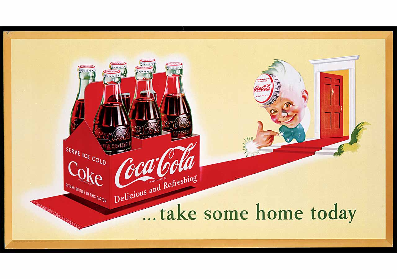 the history and features of the coca cola company Coca-cola possesses one of the most recognised brand designs in history design icon: coca-cola features or stature coca-cola first featured santa.